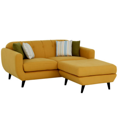 The Laze 2 Seater Sofa with Poof