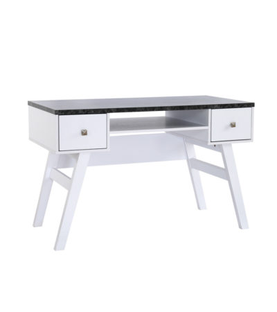 ALEX DESK WHITE/BLACK